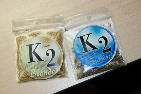 Two varieties of synthetic pot.