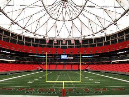 The Georgia Dome in Atlanta, Georgia
