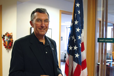 Brown County Executive Tom Hinz (courtesy of UW-Green Bay).