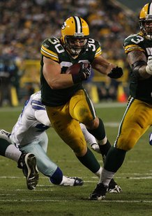 John Kuhn of the Green Bay Packers.