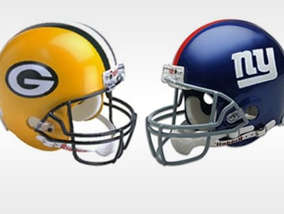 The Green Bay Packers vs New York Giants