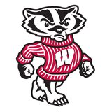 Bucky Badger the University of Wisconsin - Madison Mascot