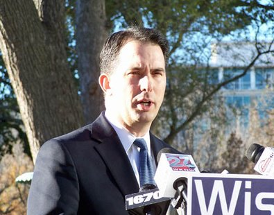 Governor Elect Scott Walker (photo-credit: Wisconsin Radio Network)