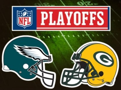 Packers vs Eagles in the opening round of the NFL playoffs