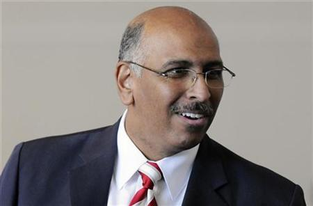 The Republican National Committee Chairman Michael Steele in National Harbor, Maryland, January 14, 2011. REUTERS/Jonathan Ernst