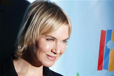 Actress Renee Zellweger in New York October 21, 2010. REUTERS/Lucas Jackson