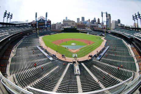 Photos from Comerica Park by Sean Patrick.