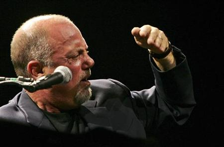 Six-time Grammy award winner Billy Joel performs for the first time in Johannesburg October 26, 2006. REUTERS/Siphiwe Sibeko