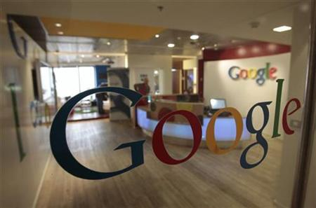 The Google logo is seen on a door at the company's office in Tel Aviv January 26, 2011. REUTERS/Baz Ratner