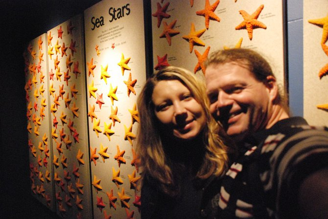 WKZO.com producer Sean Patrick makes a visit to Chicago's Shedd Aquarium - 02/13/11.