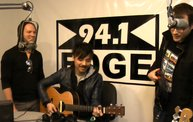 Atomic Tom In-Studio with 94.1 The Edge 10