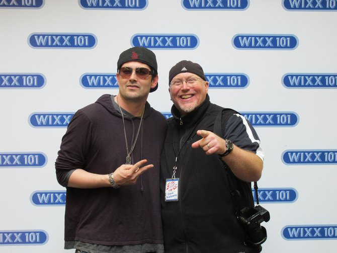 WIFC's Dave Kallaway meets TJ from Rockmafia in Green Bay on Feb 24, 2011!