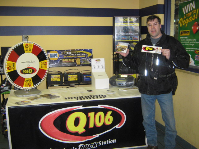 Q106 rocked Northwest Tire & High Tech Service!  Thanks for stopping by!
