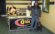 Q106 at Northwest Tire & High Tech Service (3-12-11) 3