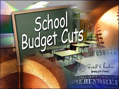 School budget graphic.