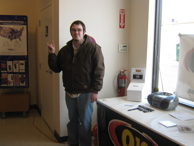 Q106 rocked Metro PCS and gave you a chance to win WWE tickets!