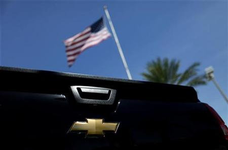 A Chevrolet vehicle is seen at a GM dealership in Miami, Florida August 12, 2010. REUTERS/Carlos Barria