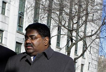 Galleon hedge fund founder Raj Rajaratnam arrives at Federal Court in New York March 28, 2011. REUTERS/Mike Segar