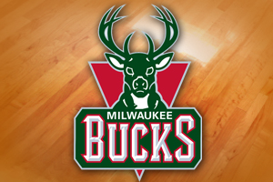 Milwaukee Bucks logo.