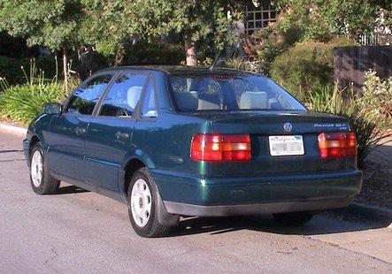 A 1996 VW Passat