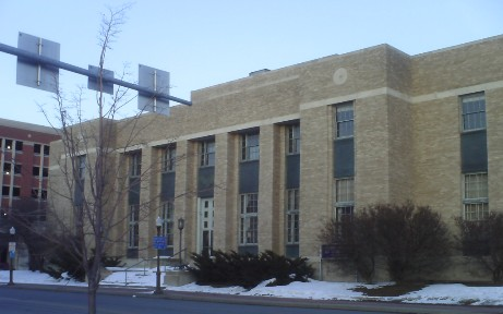 The Federal Building in downtown Wausau