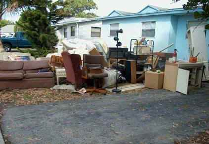 Junk removal.
