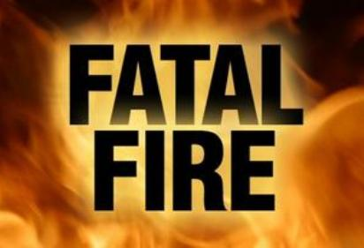 Fatal fire graphic.
