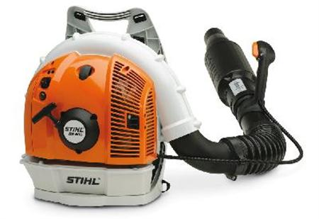 A recalled Stihl backpack blower is seen in an undated handout photo. REUTERS/Consumer Product Safety Commission