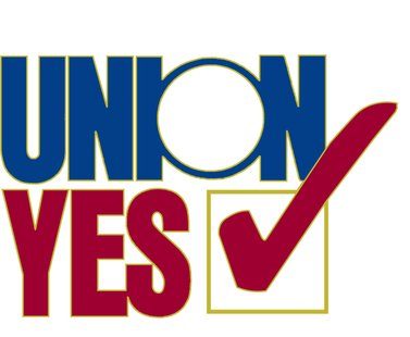 Union Yes logo.