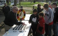 Q106 at the Lansing MS Walk 2011 8