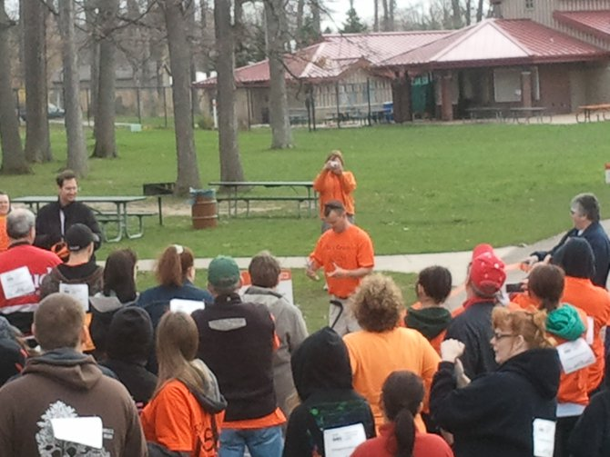 Thanks for coming out to make the MS Walk at Potter Park Zoo a success!