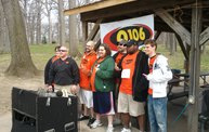 Q106 at the Lansing MS Walk 2011 1