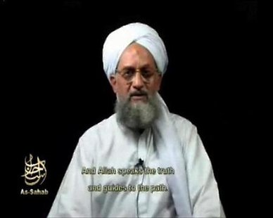 A frame grab of a video released on September 2, 2006 shows Al Qaeda's second-in-command Ayman al-Zawahri speaking. REUTERS/Reuters TV