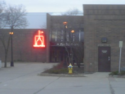 A entrance to the CenterPoint Mall in Stevens Point