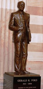 The Gerald R. Ford Statue at the U.S. Capitol.
