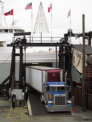 Semi Truck Unloading