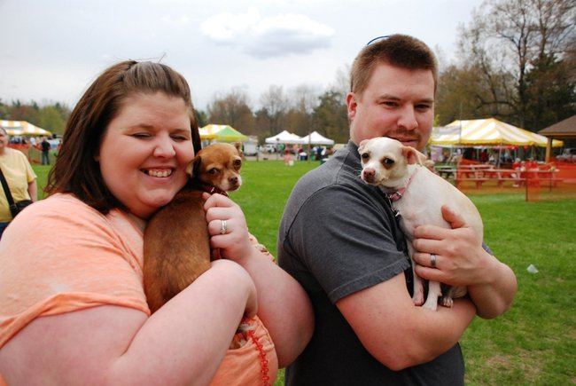 Prairie View Park in Vicksburg goes to the dogs for the 2011 Kalamazoo Humane Society Dog Walk.  Photos by Sean Patrick Duross.
