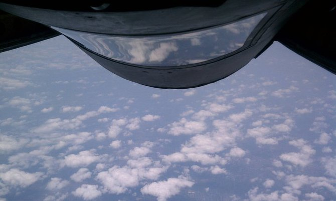KC-135 Refueling Mission 2011