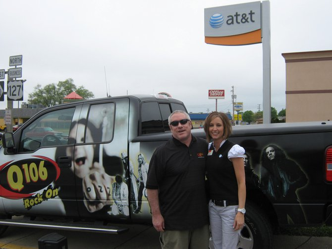 Q106 rocked Jack town where they get down at AT&T!  Thanks for stopping by!