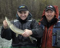 Governor Mark Dayton, Fishing Opener 2011 in Grand Rapids, MN