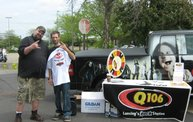 Q106 at Batte Creek Harley Davidson (5/21/11) 5
