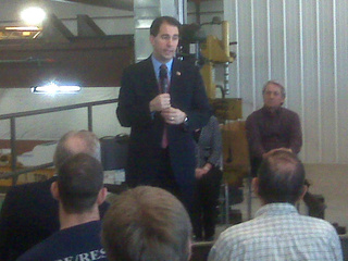 Governor Scott Walker in Hobart