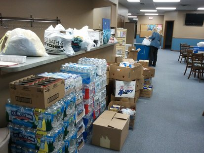 Supplies collected for Joplin