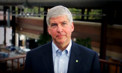 Michigan Governor Rick Snyder (R-Ann Arbor)