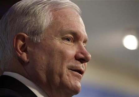 Secretary of Defense Robert Gates delivers remarks at AEI in Washington