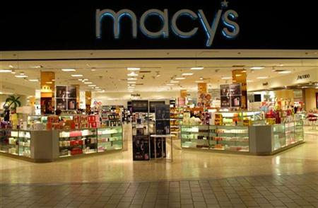 A Macy's department store is shown in Oceanside