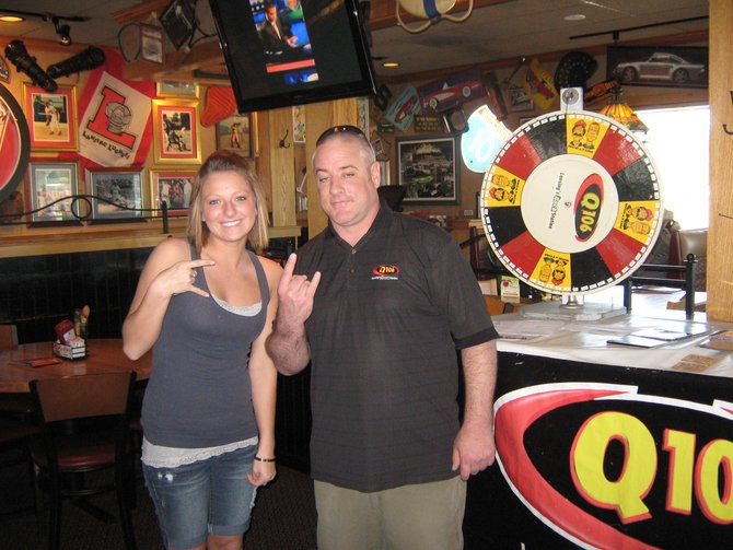 Q106 rocked with you at Applebees on South Cedar in Lansing during your lunch hour.  Thanks for stopping by!