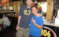 Q106 at Applebees (6/1/11) 3