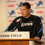 Detroit Lions head coach Jim Schwartz