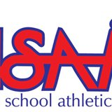 Michigan High School Athletic Association logo.